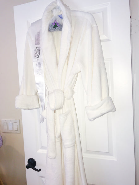 Ultra-luxe Plush Robe Lavender