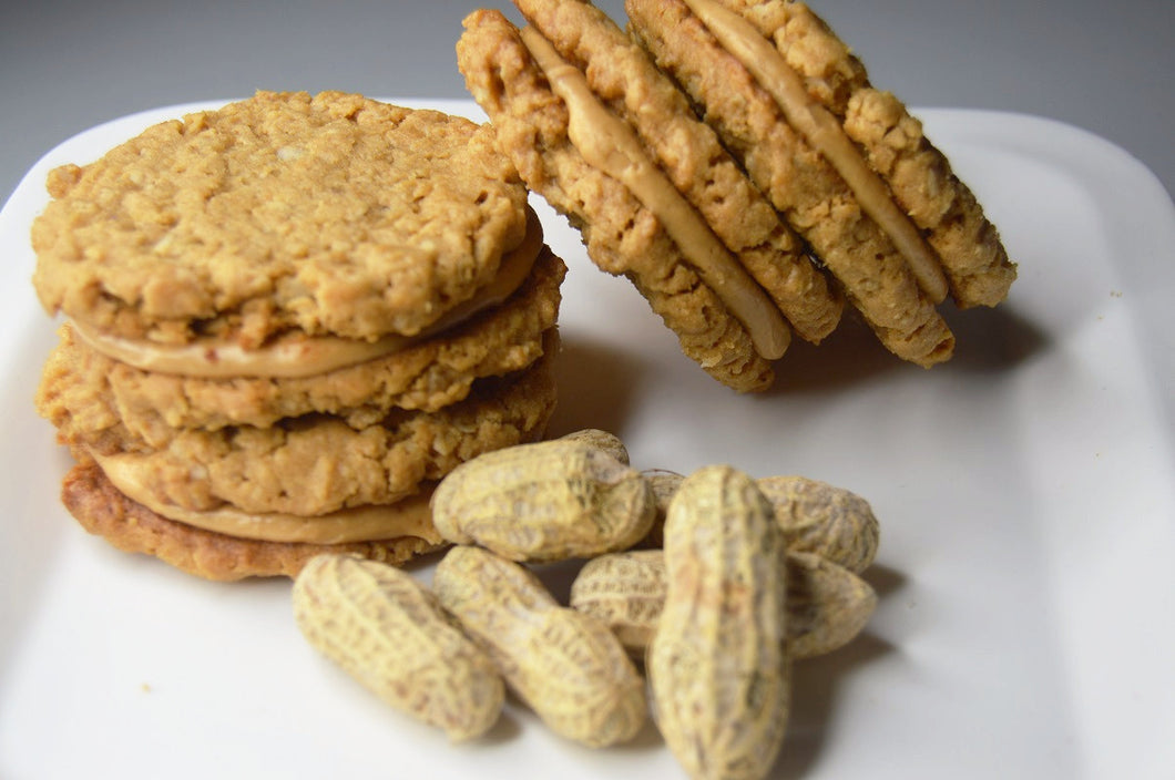 Peanut Butty Cookie Sandwich