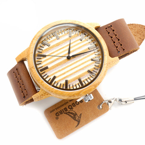 DAB Unisex Leather Wrist Watch