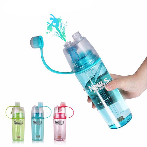 Dual Function Spray Sports Bottle - BPA Free