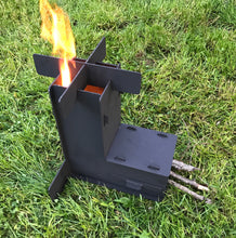 Collapsible Rocket Stove Camping Stove