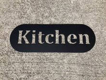 Metal Kitchen Sign