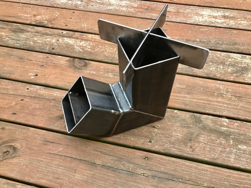 Self Feeding Rocket Stove