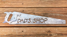Dad's Shop Saw Sign