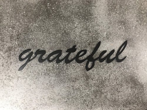 Grateful Metal Sign