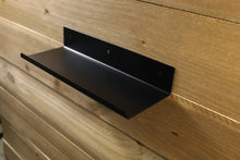 Modern Bent Metal Shelf with Front Lip