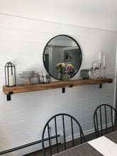 "Handcrafted Heavy Duty Steel Shelf Bracket With Lip / Modern Open Kitchen Shelving / Powder Coated Shelf Bracket/ 2"" X 3/8"" Flat Bar Metal"