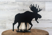 Metal Moose Candle Holder / Moose Home Decor / Metal Candle Art / Cabin Decor / Rustic Metal Art / Housewarming Gift / Outdoorsman Present
