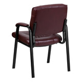 Office Chair City - Side Chairs For Office, Burgundy Chair, Reception Room Chairs. Leather Executive Chair