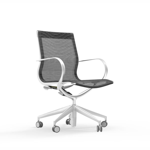The iDesk Curve chair is great for conference seating, mesh task chairs, home office chairs, and lounge seating