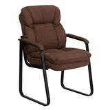 Create a comfortable setting for your guests that will make waiting more pleasant. This microfiber reception chair is the perfect way to greet your patients or clients in your waiting room or reception area. This chair also makes a great side office chair that will provide your guests with extra comfort with the double padded back and seat.
