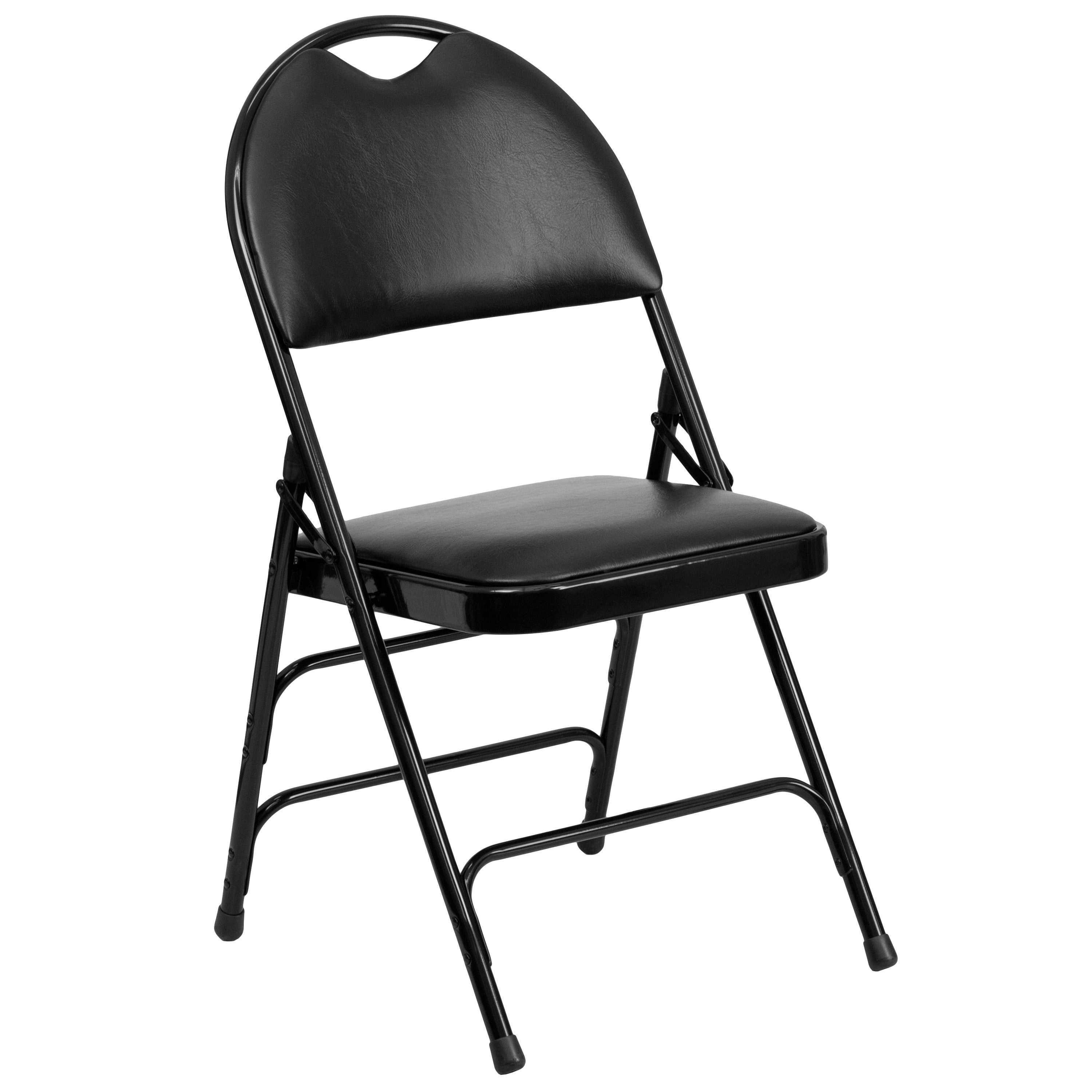 Black folding chairs - Folding Chairs Are A Practical Choice For Social Activities And For Everyday Use In The Home