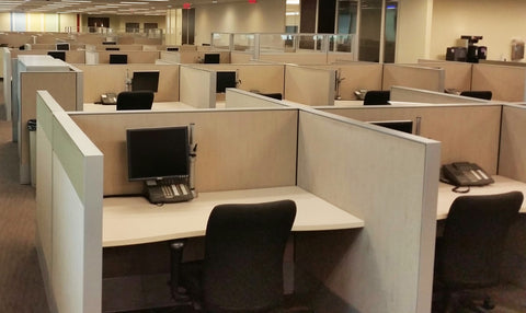 OfficeChairCity.com - Haworth Call Center Cubicles