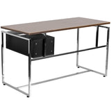 Computer Desk with Two Drawer Pedestal - OfficeChairCity.com