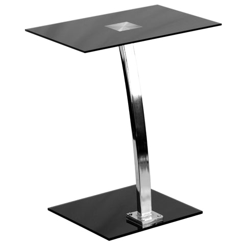 This glass desk is best for those looking for a simple yet elegant option for their laptop, reading or writing assignments. The compact size of this desk is perfect for small spaces. This desk also provides a great option for studying.