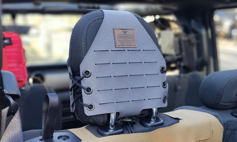 Jeep JT / JL MOLLE Headrest Panels (Rear)