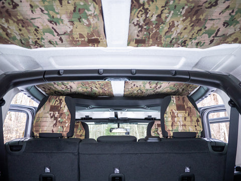 Jeep Wrangler JL MOLLE Headliner Back Seats