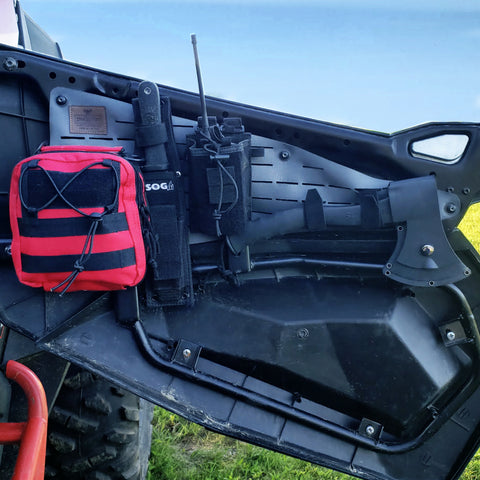 Polaris-UTV-Half-Door-Storage-Organization-Panel-With-Gear