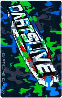 【DARTSLIVE Card】 CAMOUFLAGE PATTERN