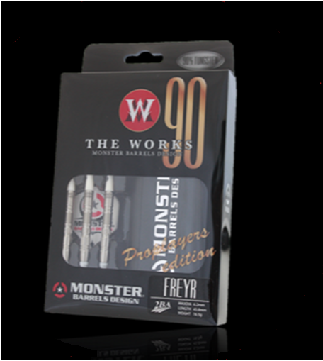 【MONSTER】2BA THE WORKS ProPlayerEdition FREYR - Mydarts