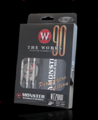 【MONSTER】2BA THE WORKS ProPlayerEdition WIZARD - Mydarts