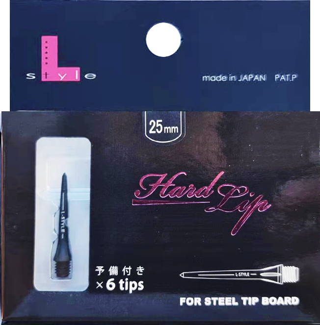 【L-style】 Hard Lips (6 Tips) For Steel Tip Board