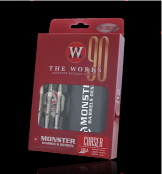 【MONSTER】2BA THE WORKS 90% CHASER - Mydarts
