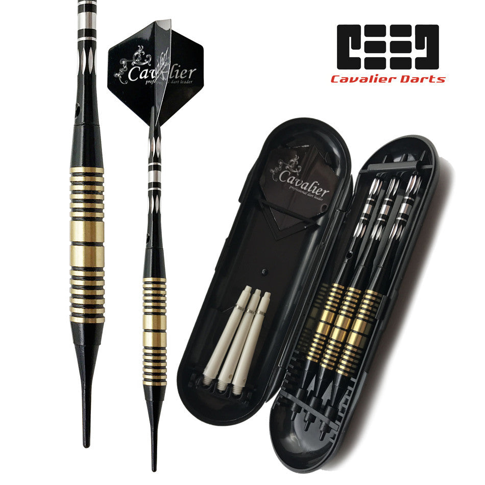 【CAVALIER DARTS】EEWQ-Yellow_Set Package Tip Darts 3 PCS