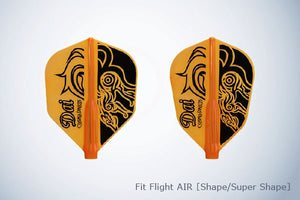 【Fit】 Flight AIR X Fuji Daisuke [Super Shape] - Mydarts