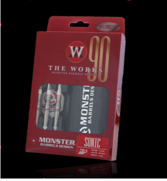 【MONSTER】2BA THE WORKS 90% SONIC - Mydarts