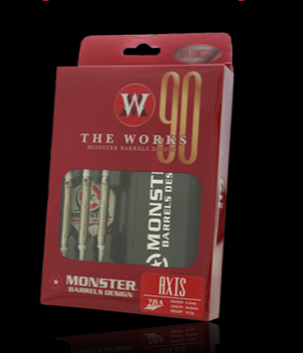 【MONSTER】2BA THE WORKS 90% AXIS - Mydarts