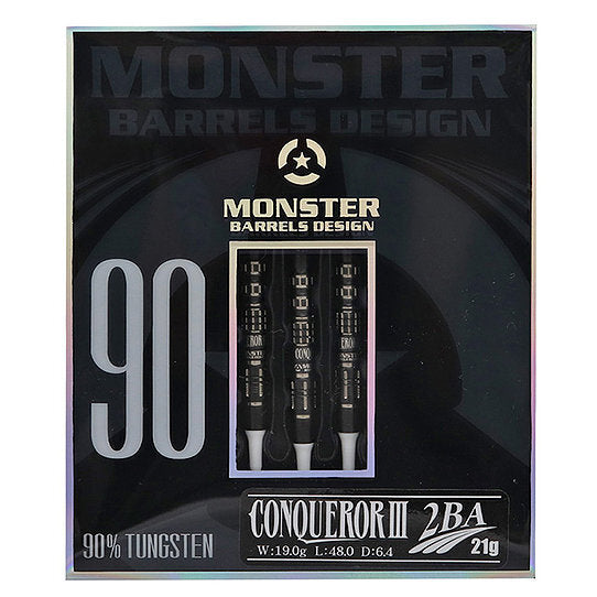 【MONSTER】Conqueror 3 90% 2BA