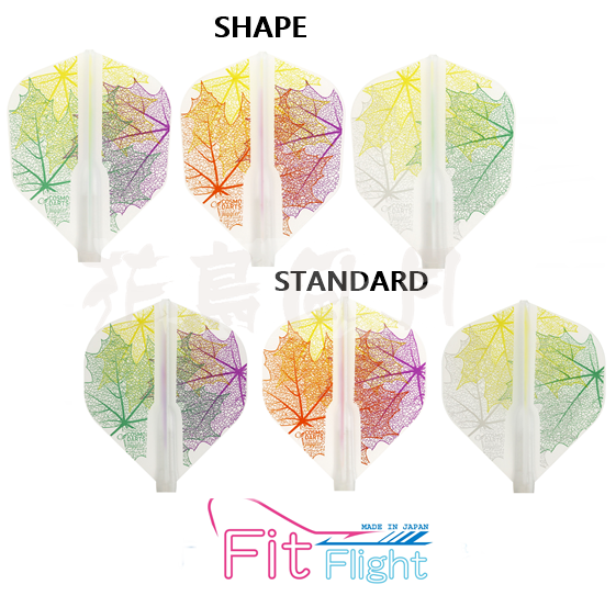 【Fit】Fit Flight ×Juggler Queen Leaf 2 [Shape/Standard] - Mydarts