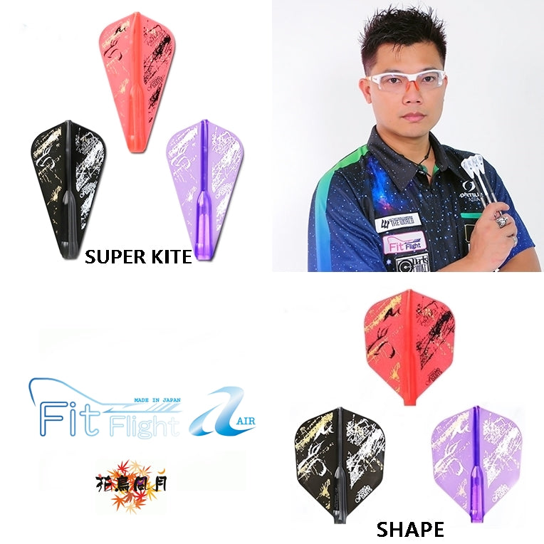 【Fit】Fit Flight AIR × Royden Lam 3 [Shape/SuperKite] - Mydarts