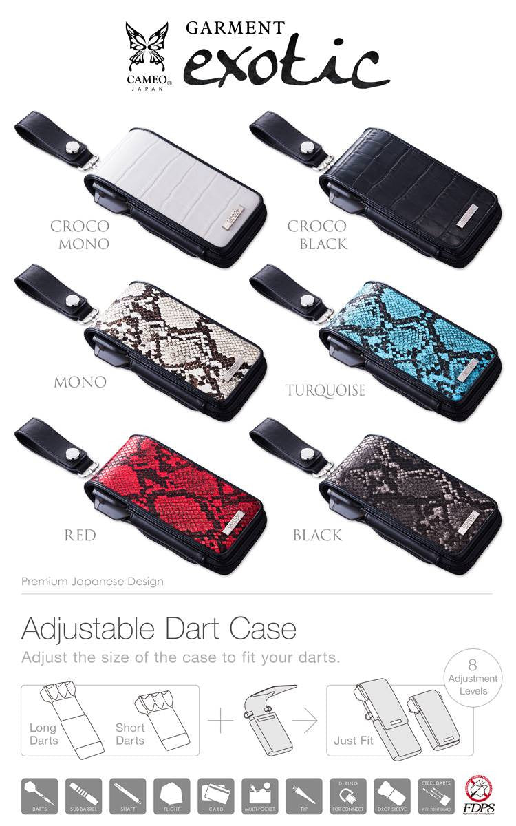 【CAMEO】DARTS CASE GARMENT EXOTIC2 - Mydarts