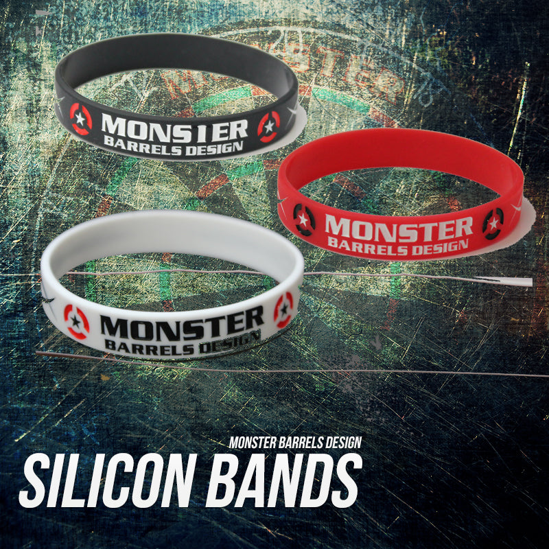 【MONSTER】Silicone Wristband