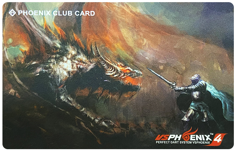 【PHOENIXDARTS】CLUB CARD