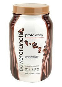 POWER CRUNCH WHEY PROTEIN,DOUBLE CHOC, 2 LB