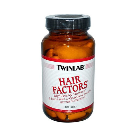 Twinlab Hair Factors - 100 Tablets
