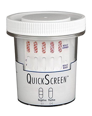 QuickScreen 5 Panel Urine Drug Test Cup 9178Z   THC, COC, OPI 2000