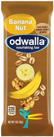 Odwalla Banana Nut  2.0 ouncs Bars (Pack of 15)