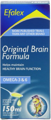 Efalex Omega 3 +6 Food Supplement Lemon & Lime Flavoured Liquid 150mls