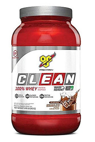 BSN - Clean 100% Whey Protein Sources Chocolate - 1.9 lb.