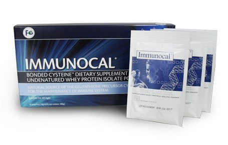Immunocal Whey Protein Powder Supplement 3 POUCH SAMPLER + 1 Free Pouch