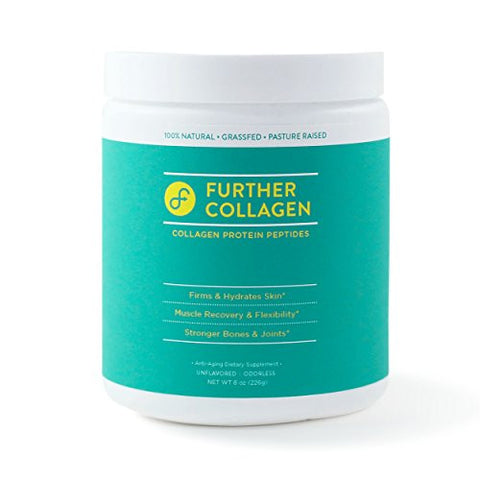 Further Collagen Peptides: Grass-Fed, Pasture-Raised, Paleo-Friendly. 100% Pure Premium Collagen Protein (8 oz.)