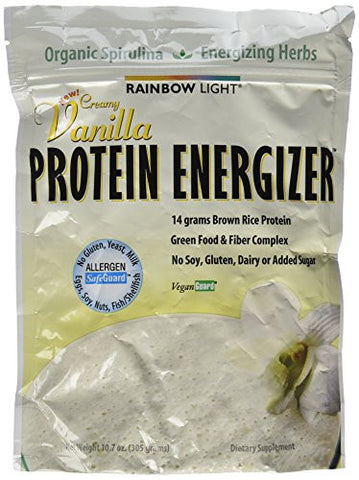 Rainbow Light Protein Energizer, Vanilla 10.7 oz.