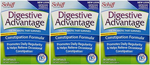 Digestive Advantage Probiotics - Constipation Formula Probiotic Capsules, 90 Count