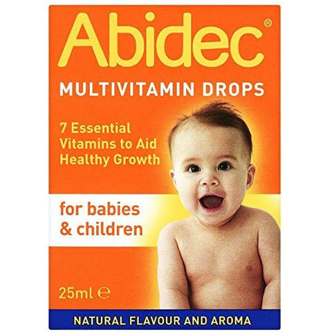Abidec Multi Vitamin Supplement For Babies & Children Drops 25ml