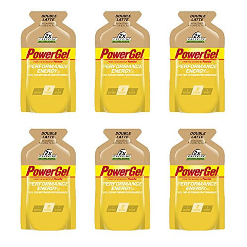 PowerBar PowerGel - Double Latte (6 x 1.44oz Packs)