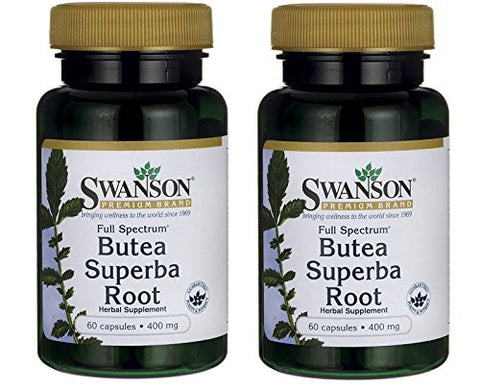 Swanson Butea Superba Root, Full Spectrum 400 mg